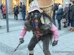 Krampuslauf am Münchner Christkindlmarkt