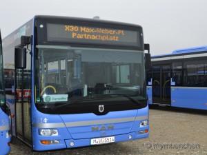 Gelenkbusse für München – X30