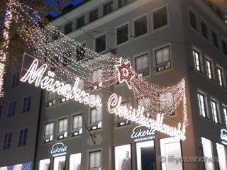 Münchner Christkindlmarktes 2013