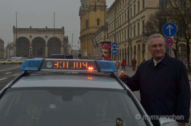 Anhaltesignale bei der Bayerischen Polizei -