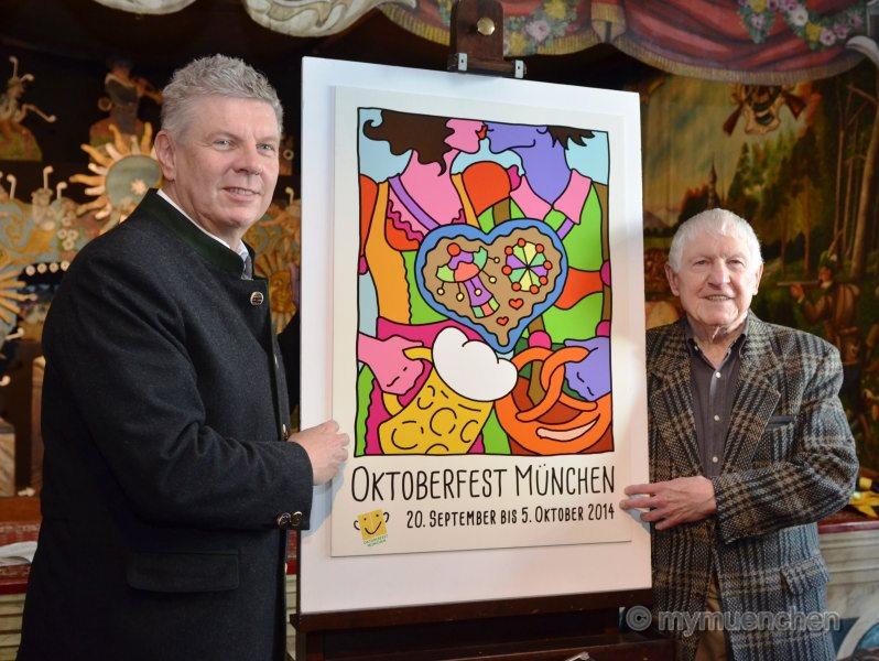 Oktoberfest-Plakatwettbewerb 2014