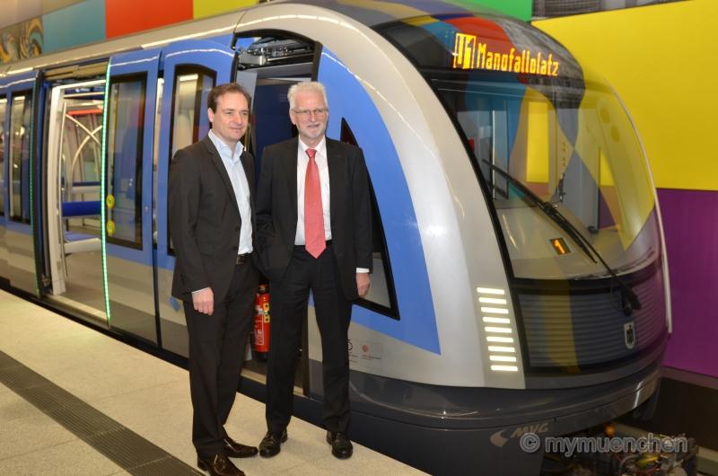 neue U-Bahn für München