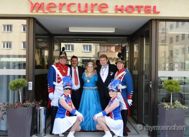 Würmesia-Prinzenpaar Mercure Hotel München