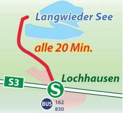 Pack die Badehose ein: Mit Bus und Bahn zum Langwieder See