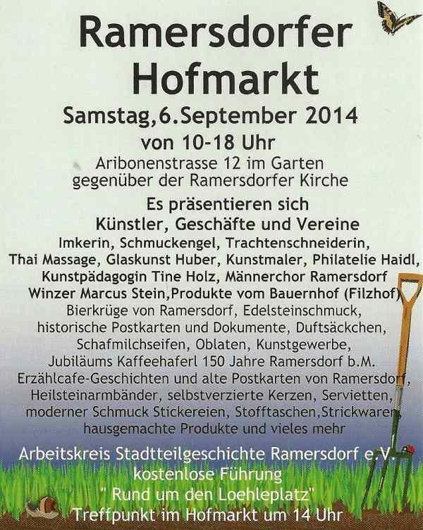 Hofmarkt 2014