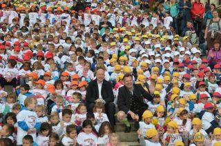 Erlebnisreicher Einstieg ins letzte Kindergartenjahr: über 1000 Vorschulkinder auf der Wiesn
