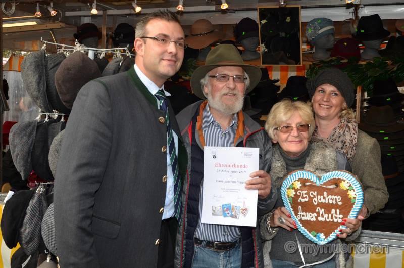 25 Jahre auf der Auer Dult: Hut ab vor Hans-Joachim Poppe