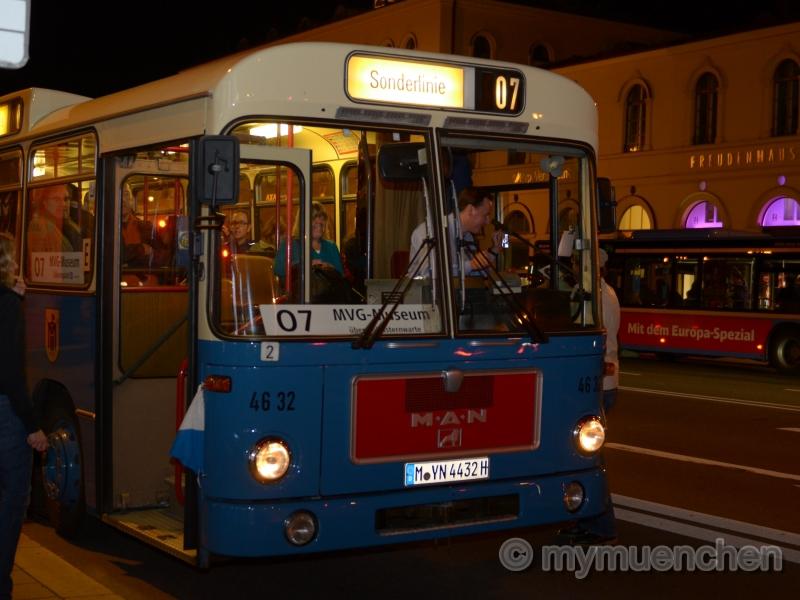 Lange Nacht der Münchner Museen Bus