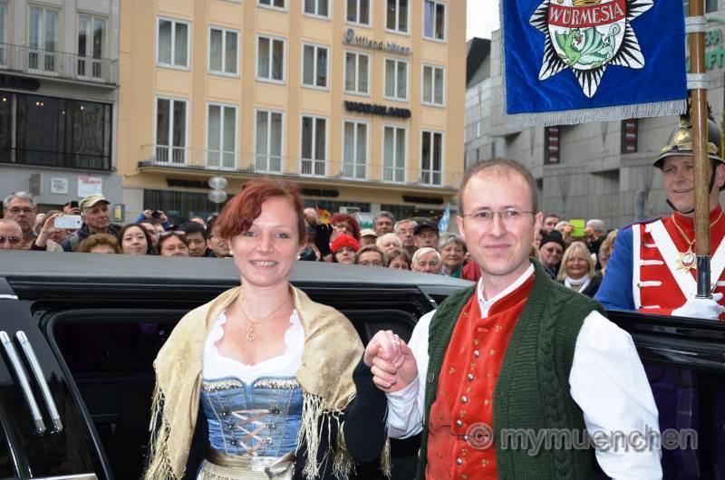Würmesia-Prinzenpaar 2015 Bernhard I. und Vanessa I. führen durch den Würmesischen Fasching 2015 Die Faschingsgesellschaft Würmesia e.V. ist mitgliedsmässig die grösste Münchner Faschingsgesellschaft. Gegründet wurde die Würmesia 1949 im Würmtal. 1972 wurde erstmals der Morisken an Personen verliehen, die sich um die Landeshauptstadt München verdient gemacht haben.