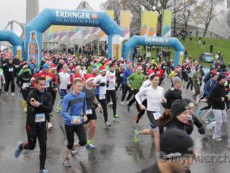 Nikolauslauf München am 02.12.2017 Rund 1.600 Teilnehmer