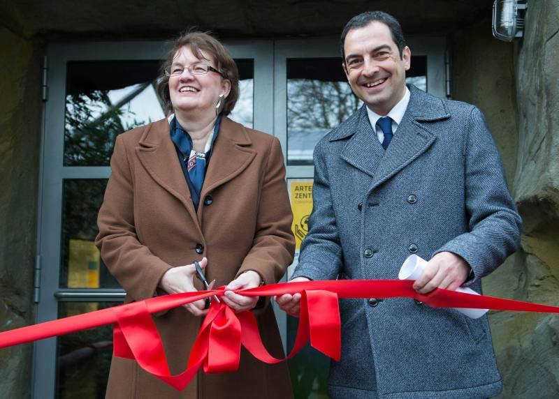 Artenschutzzentrum_Christine Strobl und Rasem Baban_Hellabrunn_09.01.2015 (6)