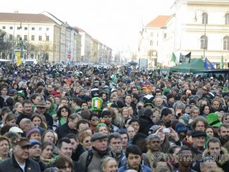 20. St. Patrick's Day Munich