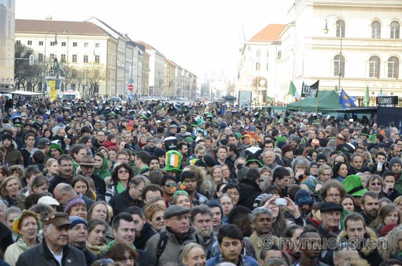 20. St. Patrick's Day Munich