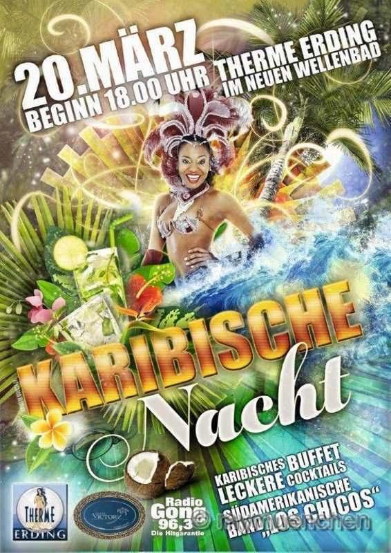 Flyer Karibische Nacht