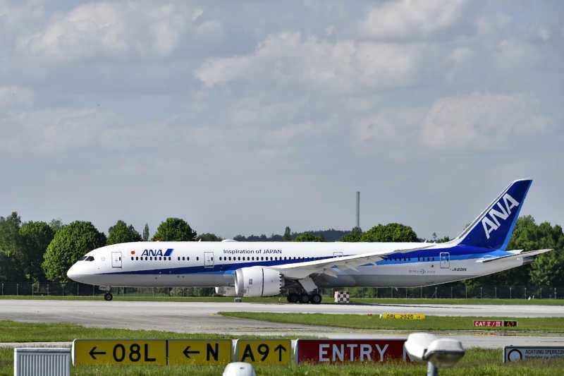 Erstflug ANA B787-900
