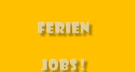 Ferien Jobs
