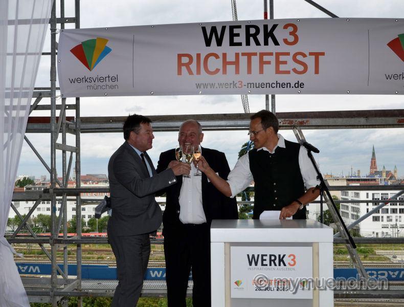 WERK 3 - die Vision eines neuen Stadtquartiers