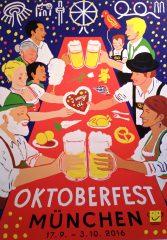 Oktoberfest Plakatwettbewerb 2016: 3 Platz
