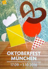 Oktoberfest Plakatwettbewerb 2016: Das offizielle Plakatmotiv 1 Platz
