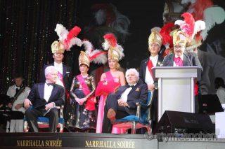 Narrhalla-Soirée im Deutschen Theater am 22.01.2016