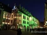 St. Patricks Day 2016 in München: Das Hofbräuhaus erstrahlte erstmals in Grün