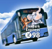 Neuer Tierpark Express X98 Ohne Umsteigen Vom Hauptbahnhof