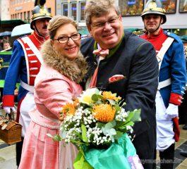 Proklamation der Wuermesia am 11.11.2017 – Prinz Hans III. und Prinzessin Regina I.