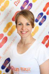 Magdalena Neuner macht Unternehmen fit für den B2Run 2018
