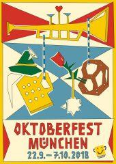 Oktoberfest-Plakatwettbewerb 2018: Das offizielle Plakatmotiv steht fest