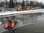 Feuerwehr-Übung in München So funktioniert eine Rettung aus dem Eis
