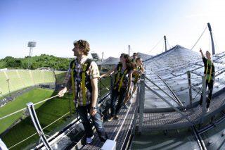 Gipfelsturm im Olympiapark
