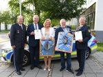 Bayerische Polizei bekommt heute einen neuen Ehrenkommissar ZDF-Serie 'Der Alte'