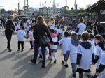 """Wiesn-Bummel für 1100 Münchner Vorschulkinder """"Wiesn-Gaudi"""" erleben rund 1100 Vorschulkinder im Alter von fünf bis sechs Jahren bei einem Bummel über das Oktoberfest."""