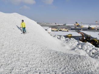 """""""Ski und Rodel gut"""" – ganz neue Perspektiven am Flughafen München"""