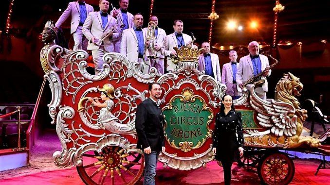 Circus Krone präsentiert vom 1. bis 31. März 2019 sein drittes Programm