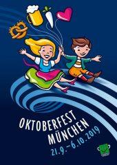Oktoberfestplakat 2019 Platz 2