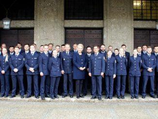 Bundespolizeidirektion München: Neue Bundespolizisten in Rosenheim
