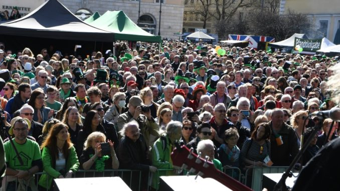 St. Patrick's Day Parade 2019 in München