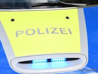 Polizei Blaulicht mini