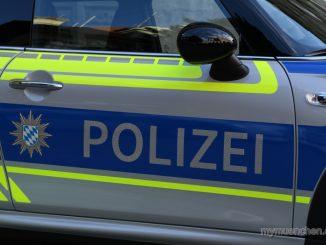 Polizei Mini von der Seite