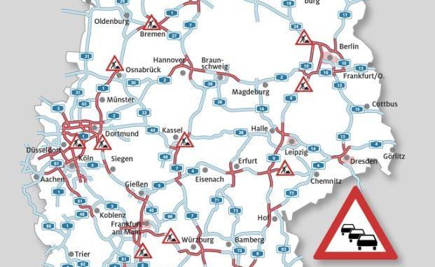 Nur kurze Zwangspausen zum Ende der Osterferien ADAC Stauprognose für 26. bis 28. April