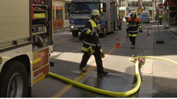 Gasalarm in der Innenstadt (Lehel)
