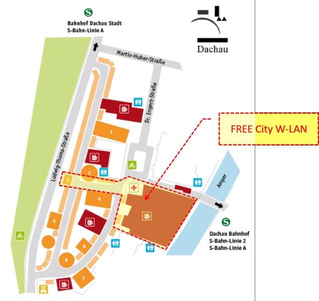 Dachau: W-LAN auf dem Dachauer Volksfest 2019